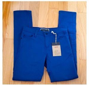 Levi's Super Skinny 510's Bright Blue 28 x 30